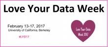 Love Your Data Week 2017