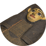 Iwesenmin face - photogrammetry of Egyptian sarcophagus